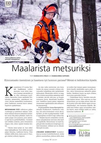 Page 50 of Maalarista metsuriksi