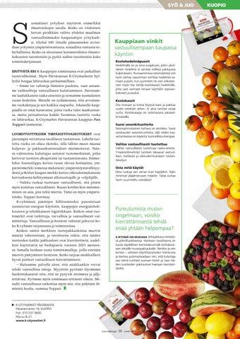 Page 55 of Kohti vastuullisempaa ruokakulttuuria