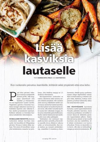 Page 56 of Lisää kasviksia lautaselle