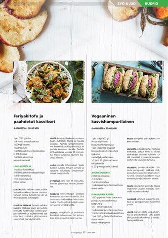 Page 57 of Lisää kasviksia lautaselle