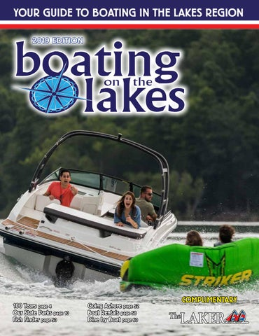 Boating On The Lakes 2019 By The Laker Issuu