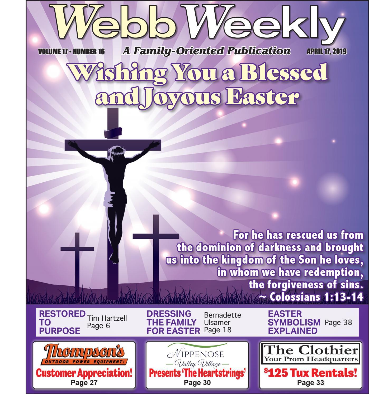 Webb Weekly April 17 2019 By
