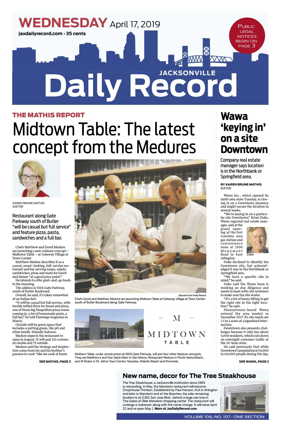 364f8eeb28 Jacksonville Daily Record 4/17/19 by Daily Record & Observer LLC - issuu