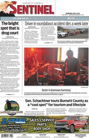 4edf0c836 Burnett County Sentinel 04-17-2019 by Burnett County Sentinel - issuu