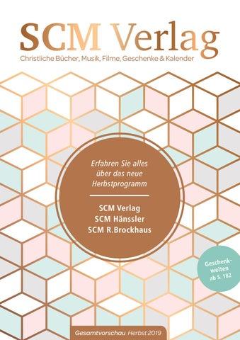 Firmen Weihnachtsgeschenke F303274r Kunden.Scm Verlag Gesamtvorschau Herbst 2019 By Scm Verlagsgruppe