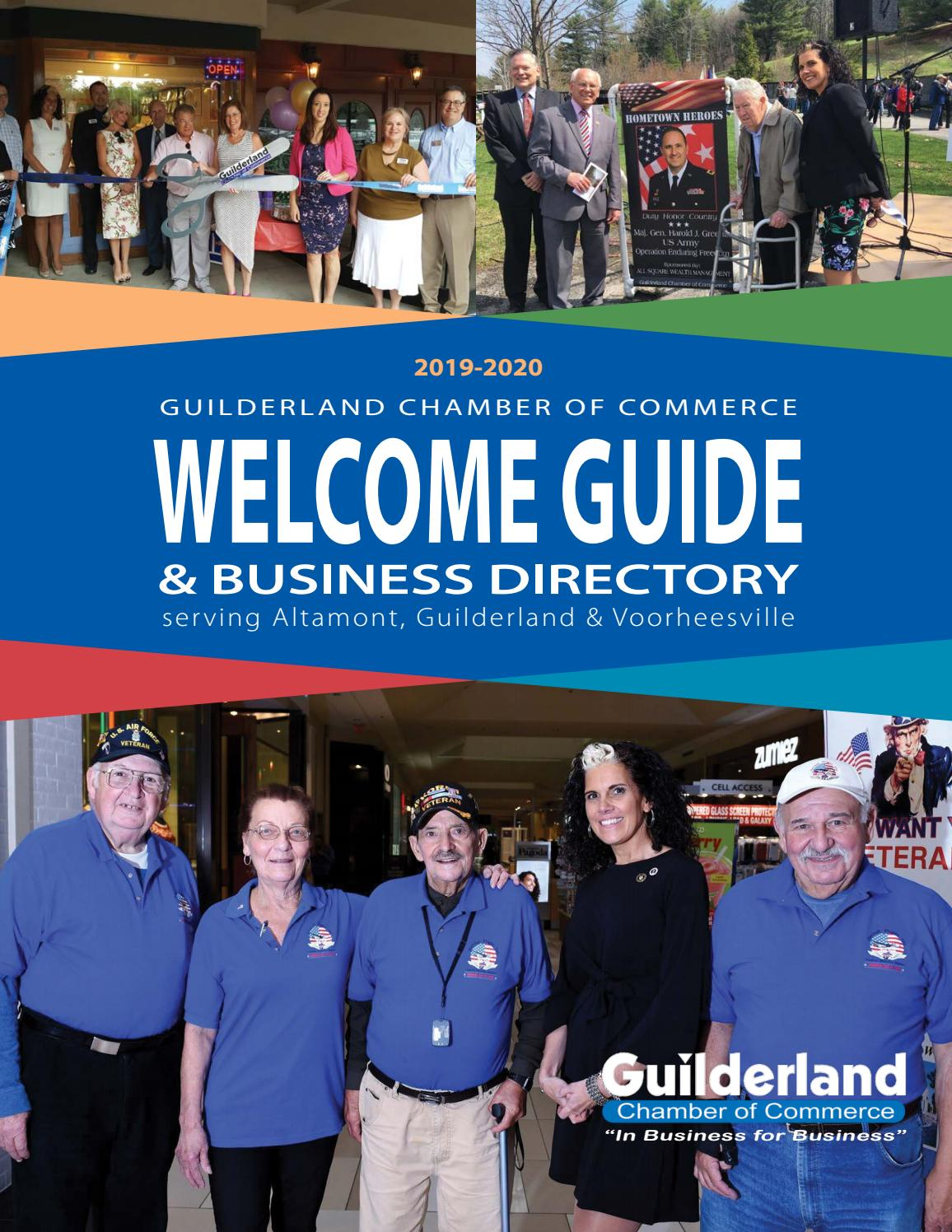2019 Guilderland Chamber of Commerce Directory by Our Towne