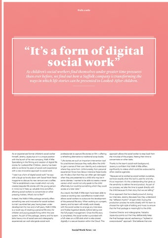 """Page 10 of """"It's a form of digital social work"""""""