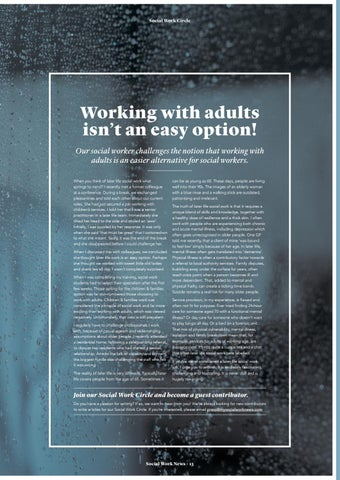 Page 13 of Working with adults isn't an easy option!