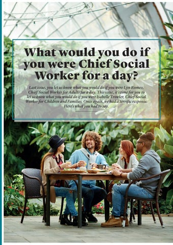 Page 20 of What would you do if you were Chief Social Worker for a day?