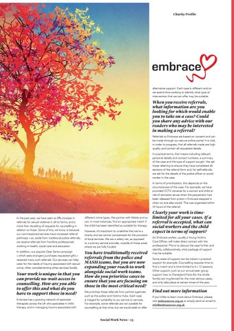 Page 23 of Charity Spotlight: Embrace.
