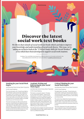 Page 24 of Discover the latest social work text books.