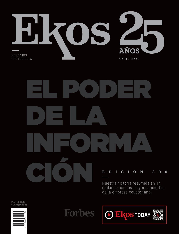 a686ee123 Revista Ekos – 25 años - Edición Especial by Ekos - issuu