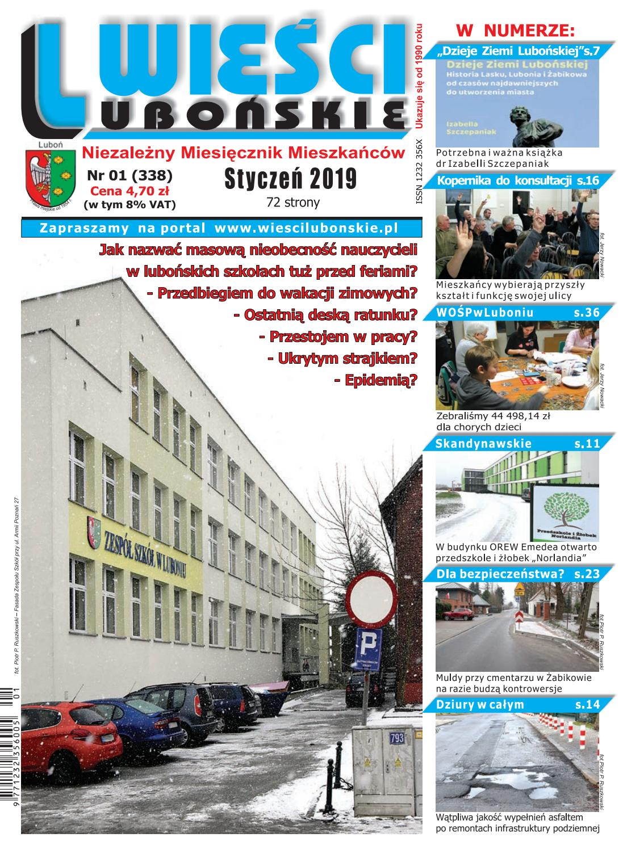 0a3d5cfa60fcd Wieści Lubońskie 2019/01 by WiesciLubonskie - issuu