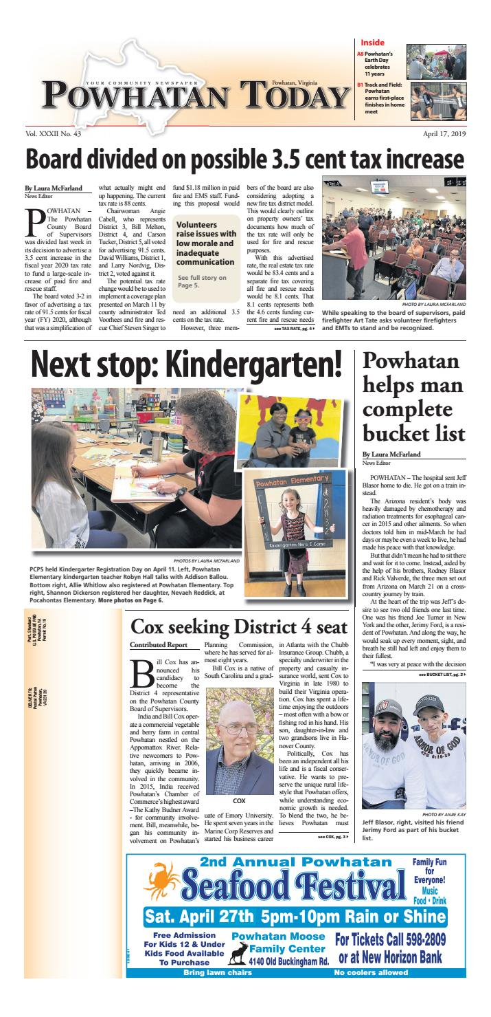 04/17/2019 by Powhatan Today - issuu