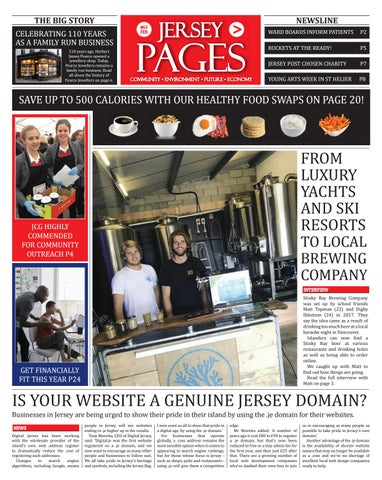 Jersey Pages | Issue 63 by W Media Ltd - issuu