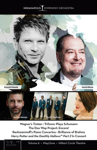 May/June Program Book for the Indianapolis Symphony Orchestra by
