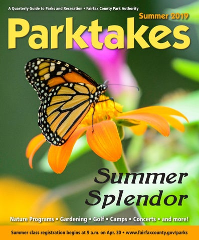 Summer Parktakes 2019 by Fairfax County Park Authority - issuu