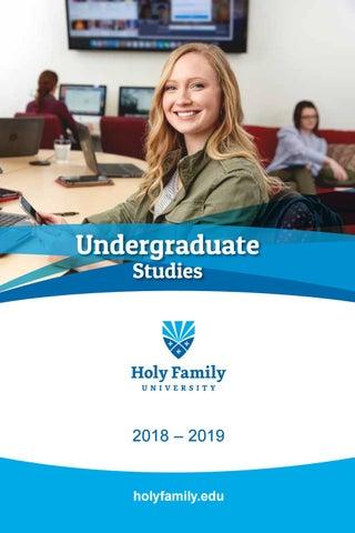 4511271e0f5760 Holy Family University: Undergraduate Catalog 2018-19 by Holy Family  University - issuu