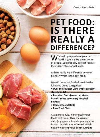 Page 34 of Pet Food: Is There Really a Difference?