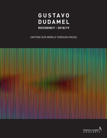 Gustavo Dudamel Residency Program By Princeton University