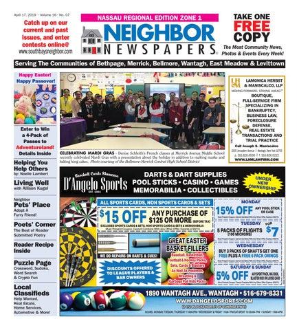 April 17, 2019 Nassau Zone 1 by South Bay's Neighbor