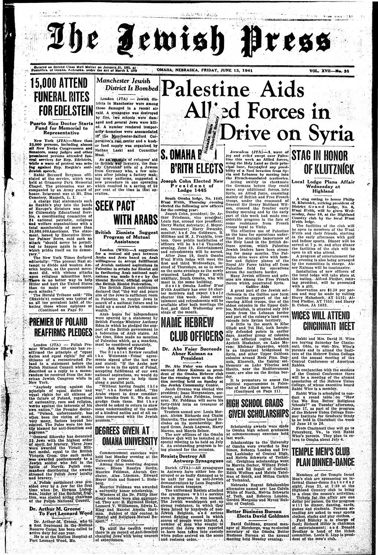 June 13 1941 By Jewish Press Issuu