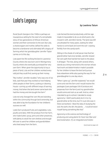 Page 43 of Lola's Legacy