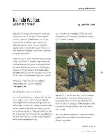 Page 9 of Relinda Walker: woman on a mission