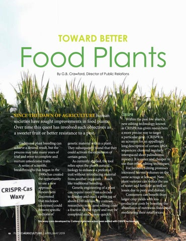 Page 12 of Toward Better Food Plants