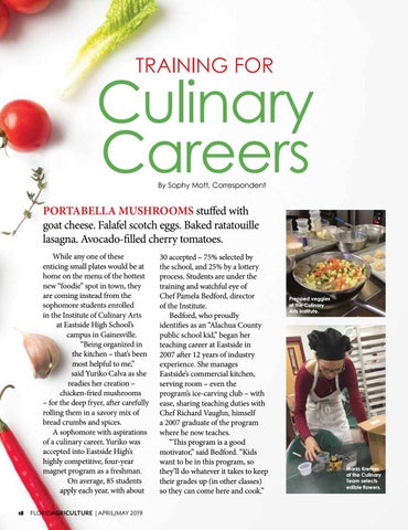 Page 18 of Training for Culinary Careers