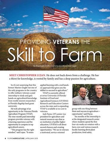 Page 8 of Providing Veterans the Skill to Farm
