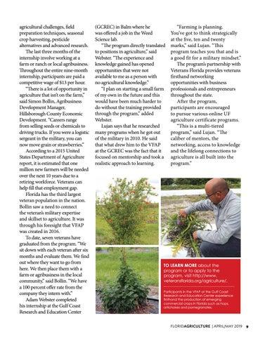 Page 9 of Providing Veterans the Skill to Farm