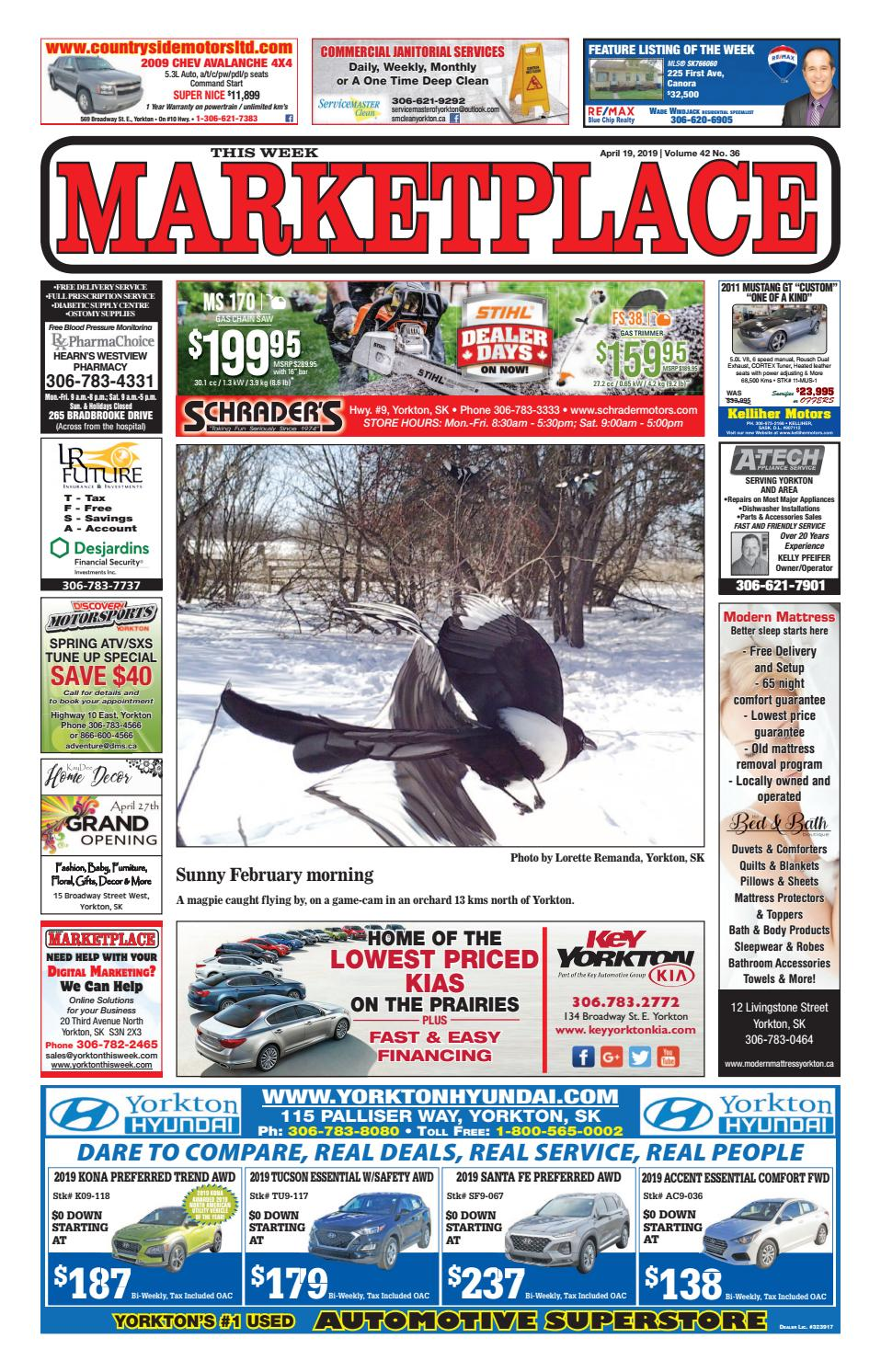 Marketplace 2019-04-19 by Yorkton This Week - issuu