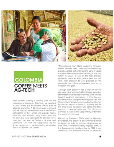 Page 18 of Colombia. Coffee meets Ag-Tech