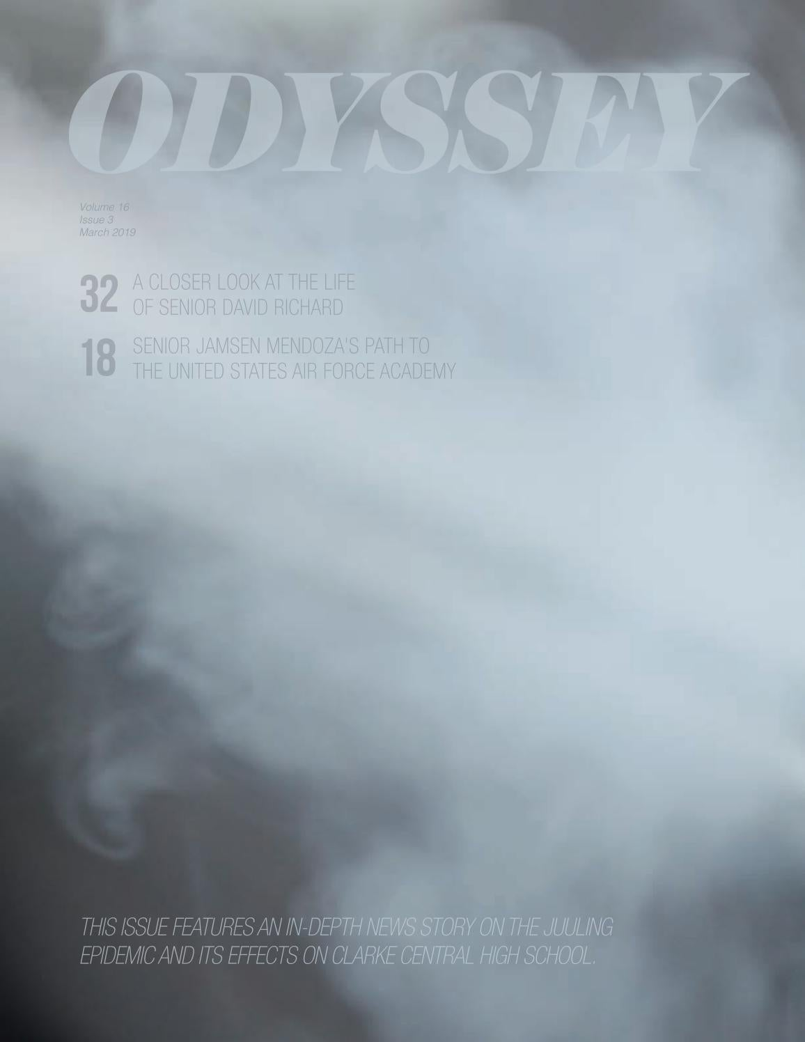 ODYSSEY Newsmagazine, Vol  16, Issue 3, March 2019 by