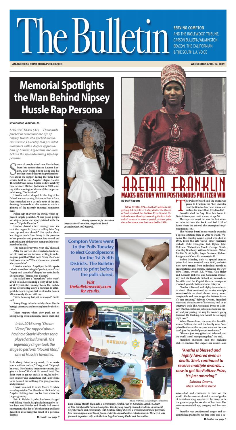 ad25ebe6e The Bulletin by The Compton Bulletin - issuu