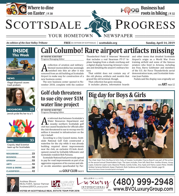 ce42d492ca4 Scottsdale Progress 04-14-2019 by Times Media Group - issuu