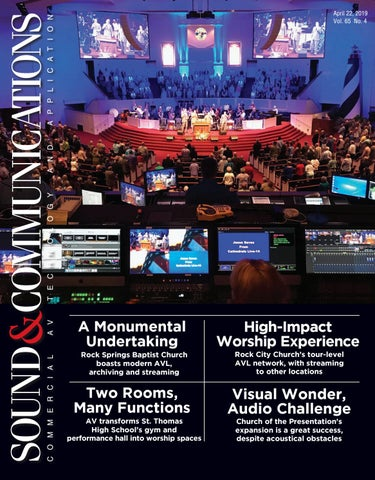 Sound & Communications April 2019, Vol 65 No 4 by Sound