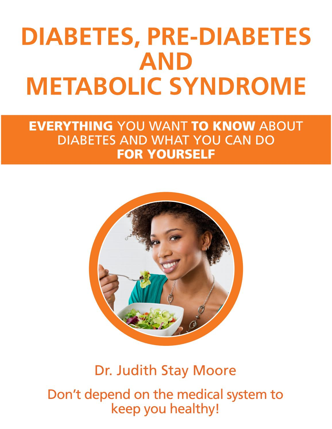 Diabetes Pre Diabetes And Metabolic Syndrome By Madona Issuu
