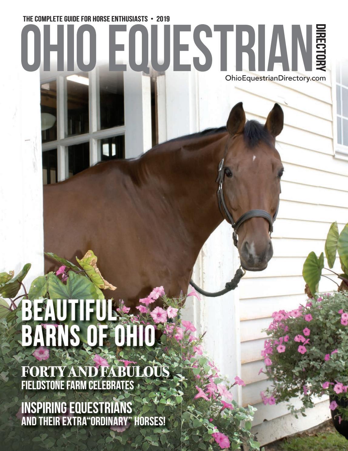 Ohio Equestrian Directory 2019 By Equestriandirectory Ensomedia Issuu