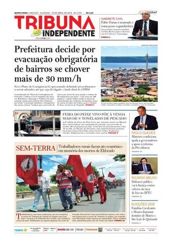 2b2a0eb09 Edição número 3375 - 18 de abril de 2019 by Tribuna Hoje - issuu