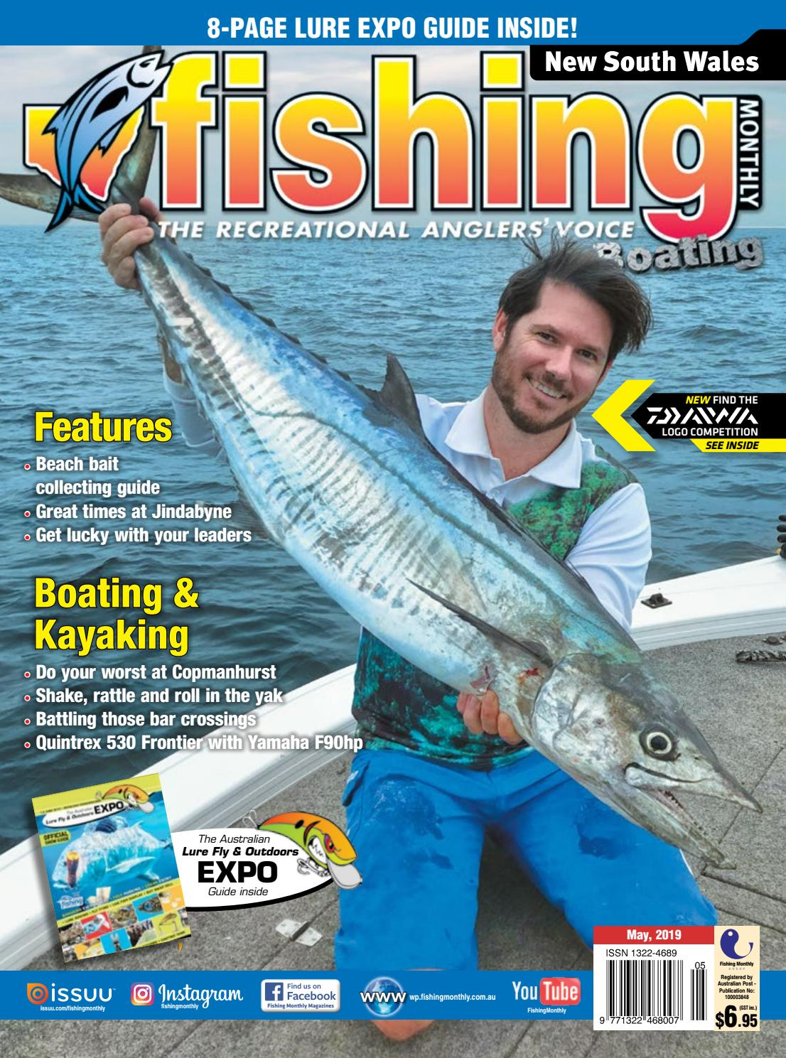 ea8cc4c18c1 New South Wales Fishing Monthly May 2019 by Fishing Monthly - issuu