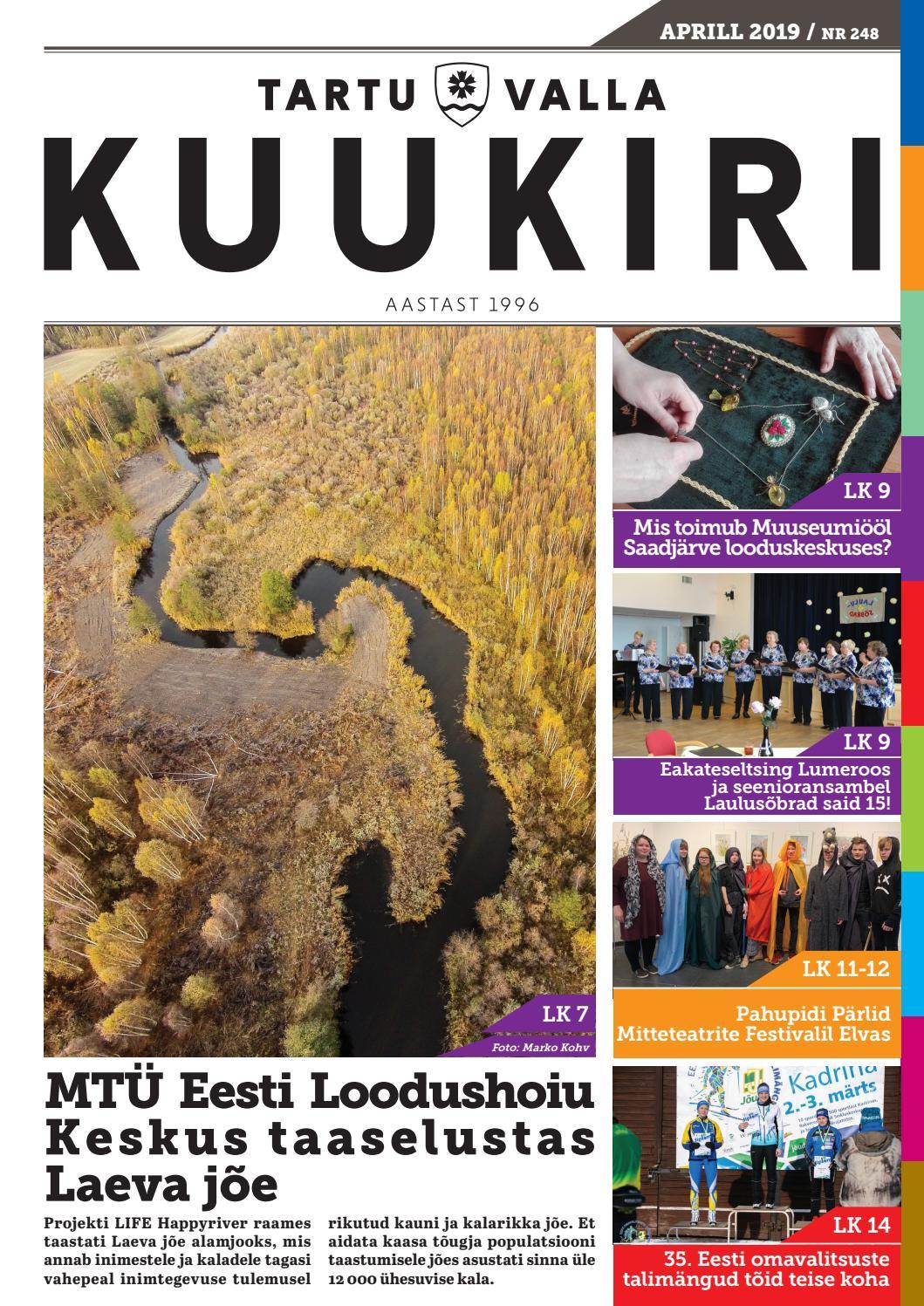 629250417f6 Tartu Valla Kuukiri (248) Aprill 2019 by Tartu Valla Kuukiri - issuu