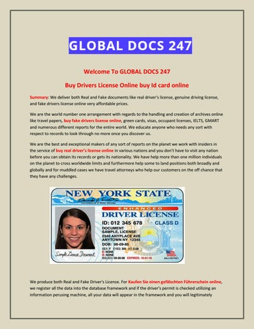 Buy Drivers License Online buy Id card online by