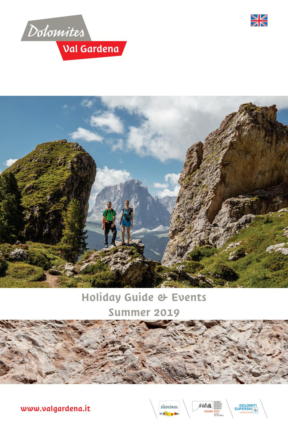 Holiday Guide Events Summer 2019 By Dolomites Val
