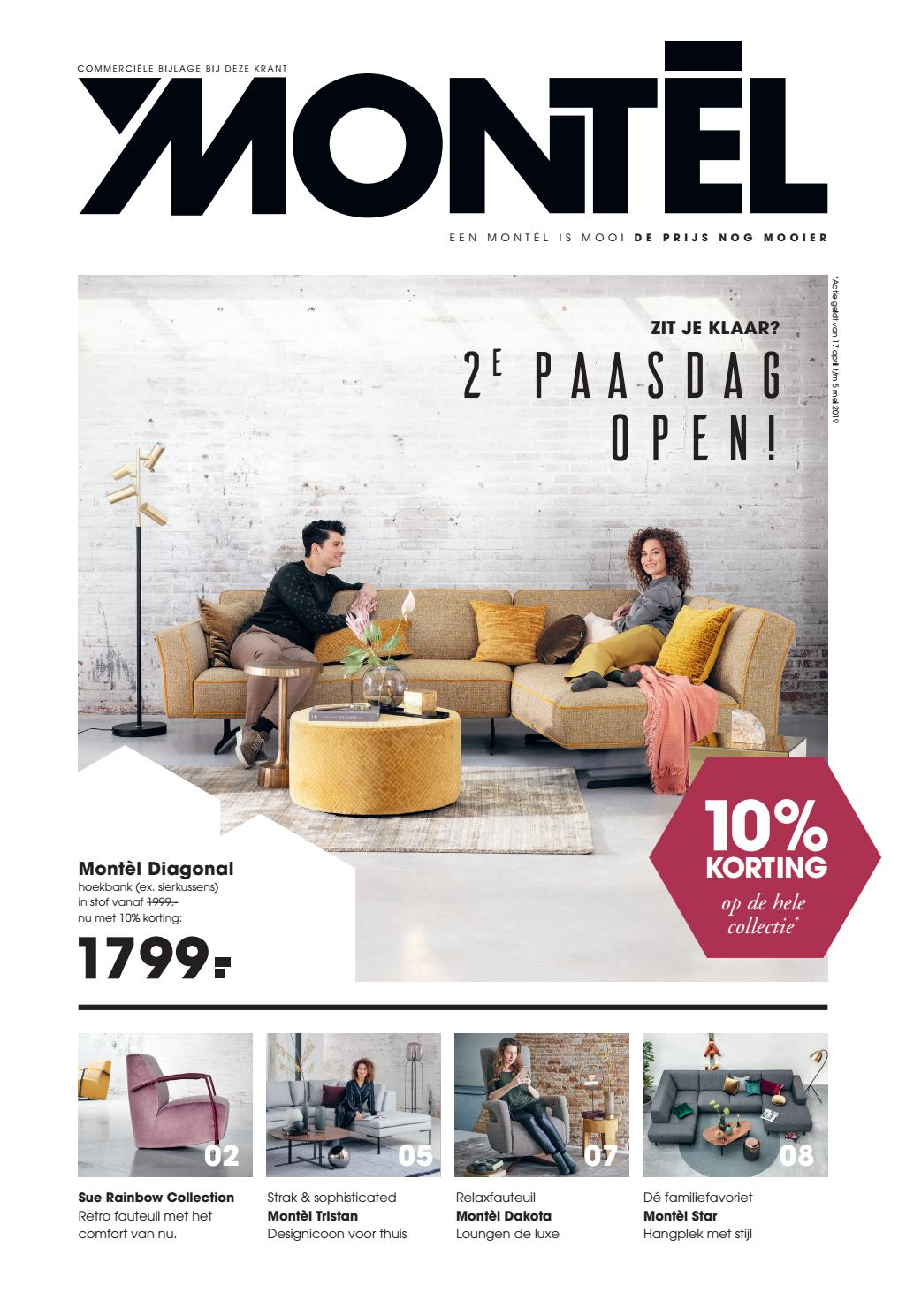 Leren Bankstel Montel.Paasfolder Montel By Home Center Issuu