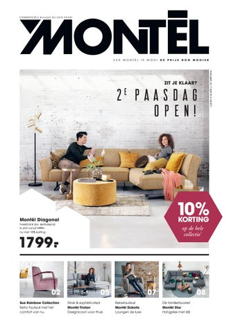 Leren Bank Montel.Paasfolder Montel By Home Center Issuu