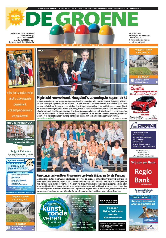 5a1d8652f79f41 De Groene Venen 19-04-2019 by De Groene Venen - issuu