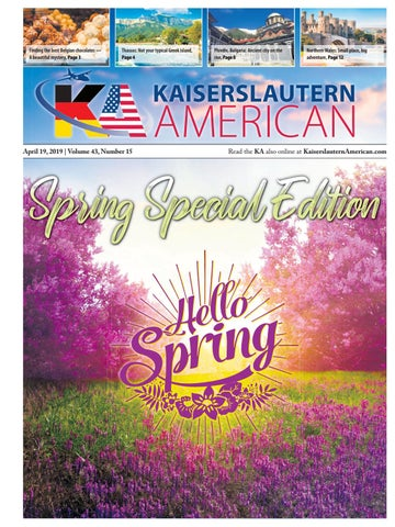 Kaiserslautern American Special Edition, April 19, 2019 by