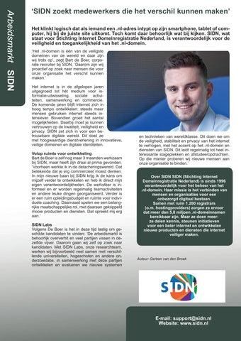 Page 19 of Medewerkers die het verschil maken en een ambassadeur zijn voor het bedrijf